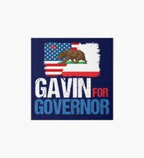 Gavin for Governor of California 2018 Art Board