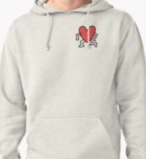 Keith Haring Heart Pullover Hoodie