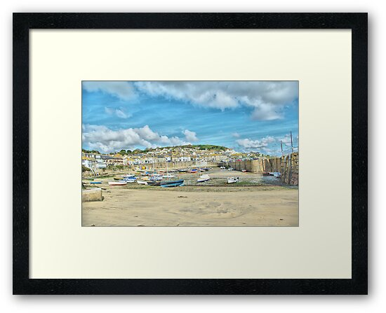 Portrait of Mousehole by Catherine Hamilton-Veal  ©