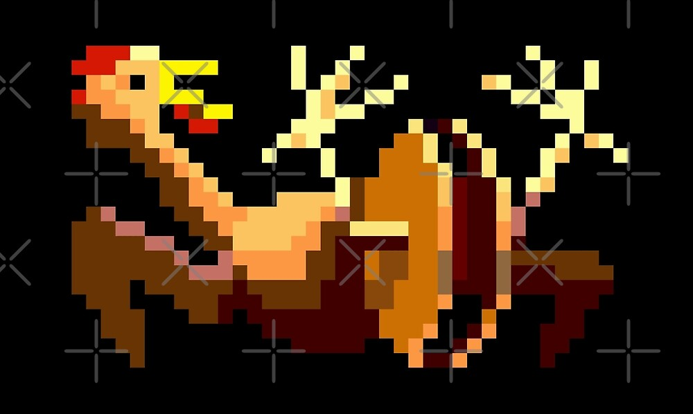 Rubber chicken with a pulley in the middle (Monkey Island) by themasrix