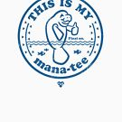 Manatee Tshirt by chillandserve