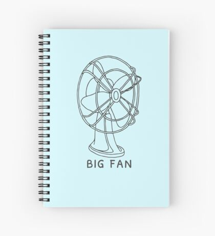Big Fan Spiral Notebook