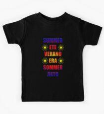 summer summer verano sommer Kids T-Shirt