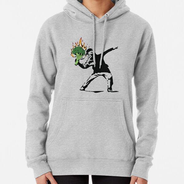Vegan Banksy Pullover Hoodie