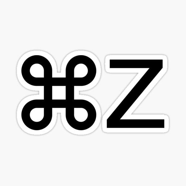 Command Z Sticker