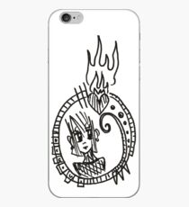 Mirror Mirror of Flames & Sorrow iPhone Case