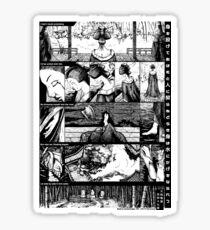 Comic strip. Yamato Monogatari. Story 147.   Sticker