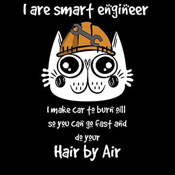 funny cat engineer . by black9star