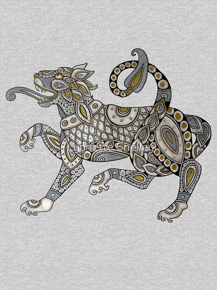 Celtic Lion Tee de LynnetteShelley