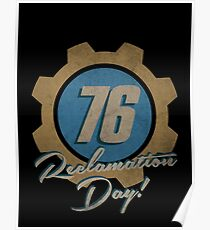 Celebrate Reclamation Day! - Fallout 76  Poster