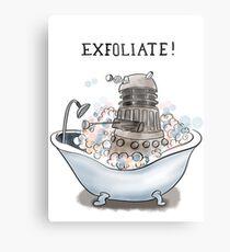 Exfoliate Metal Print