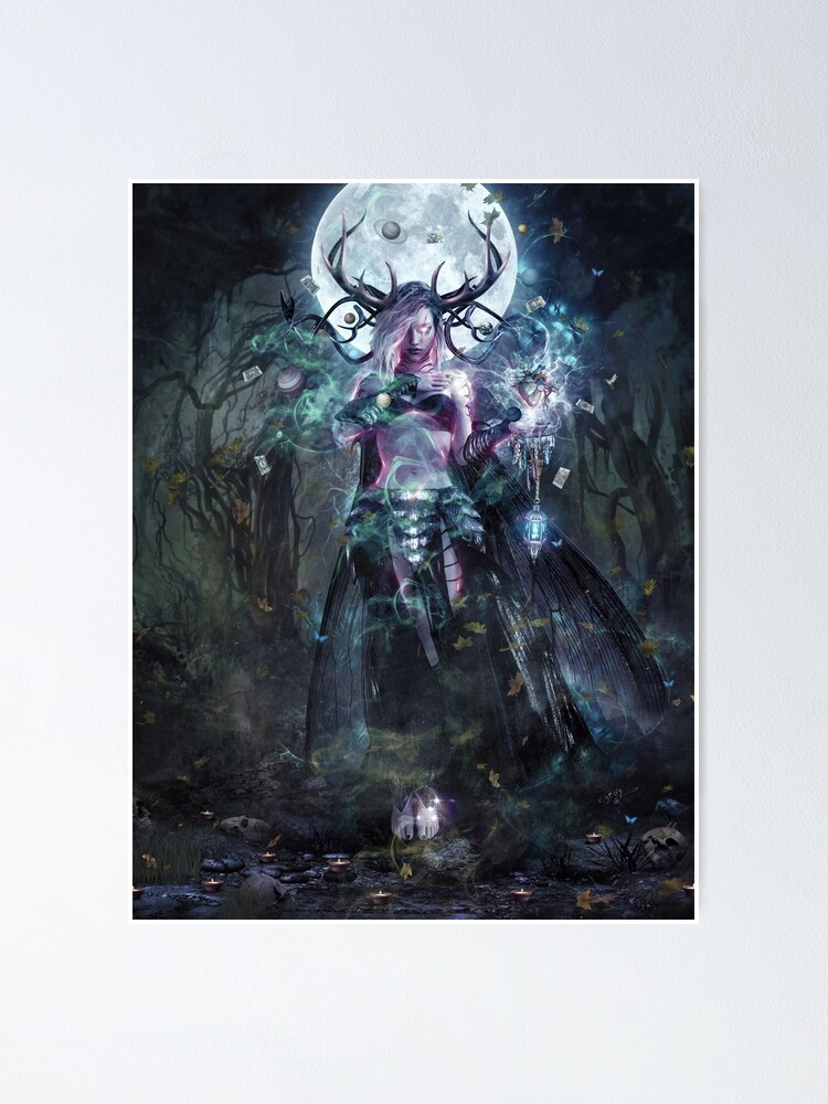 Alternate view of The Dreamcatcher (vertical print) Poster