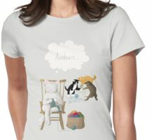 Of Cats and Yarn Womens Fitted T-Shirt