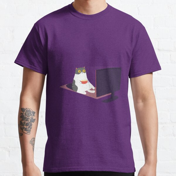 Catflix and Chill Classic T-Shirt