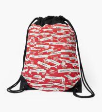 Hello My Name Is - Name Tag Design  Drawstring Bag