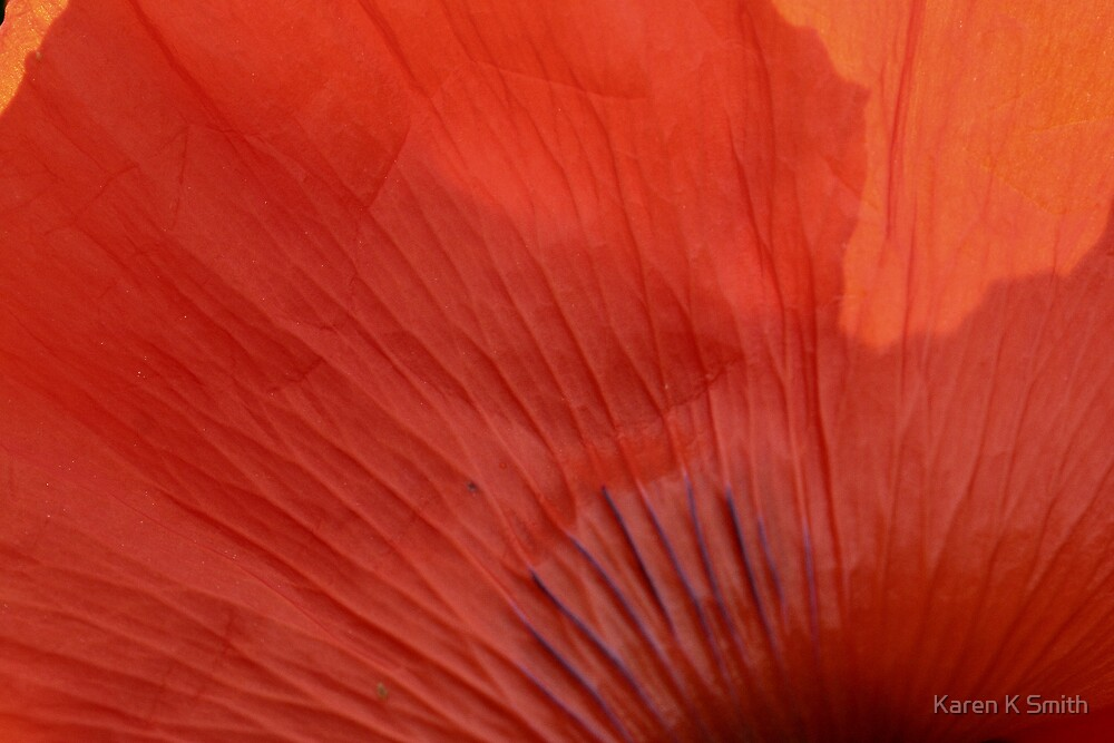 Poppy Petal by Karen K Smith