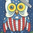 OWL NATION USA by Susan Brack