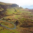 S Bend; The Quiraing, Isle of Skye by wiggyofipswich