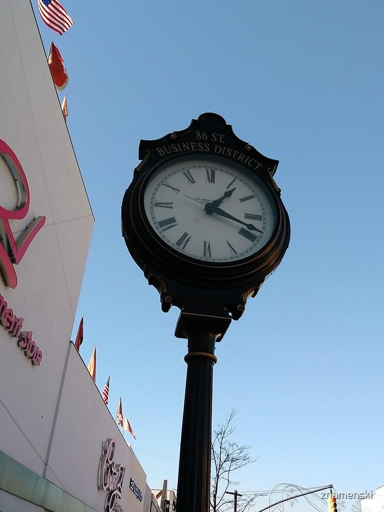 Clock, #clock, Brooklyn, #Brooklyn, Manhattan, #Manhattan, New York, #NewYork, NYC, #NYC, New York City, #NewYorkCity by znamenski