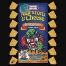 Evil Clown T Shirt Macaroni & Cheese by bear77