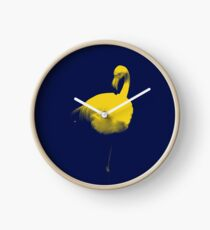 Flamingo Dreams Clock