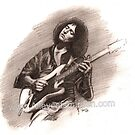 Richie Blackmore by Alleycatsgarden