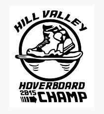 Hoverboard Champion Photographic Print