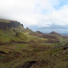 The Photographer, The Quiraing, Skye by wiggyofipswich