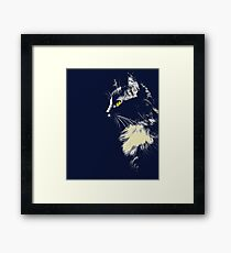 Mysterious Cat Framed Print