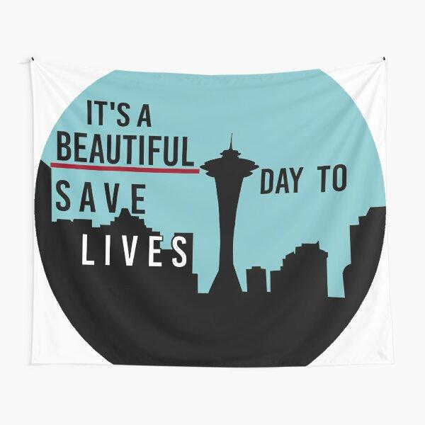 Es un hermoso día para salvar vidas Tela decorativa