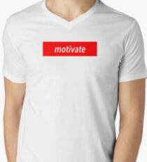 Motivate Men's V-Neck T-Shirt