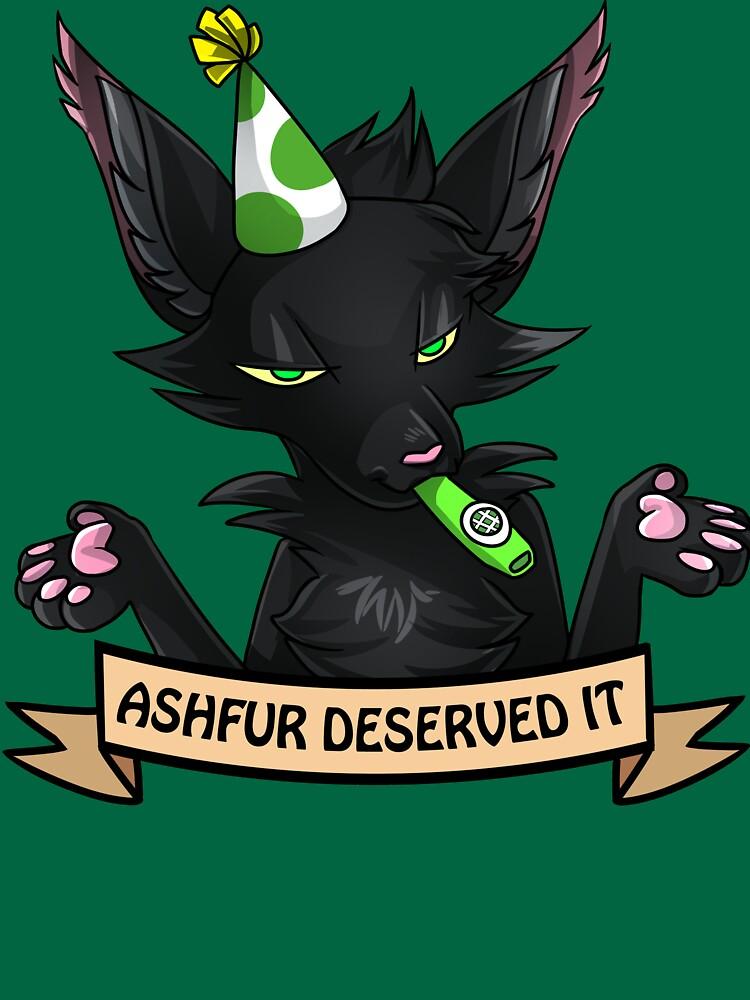 Ashfur se lo merecía de Draikinator