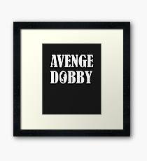 Avenge Dobby white Framed Print