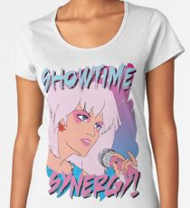 Jem and the Holograms 80s Cartoon tv movie Women's Premium T-Shirt