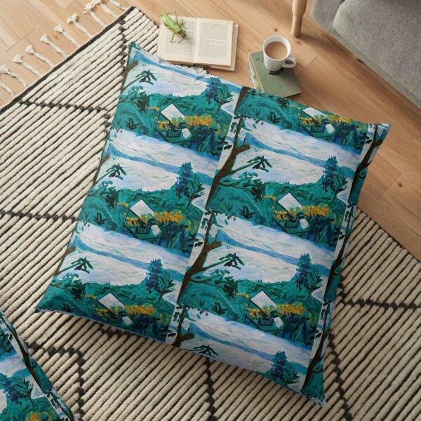 Davies Road Floor Pillow