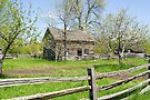Hired Man's Home, Louck's Farm, Upper Canada Village, Ontario by Mike Oxley