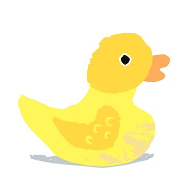 Cute Rubber Ducky by flourishandflow