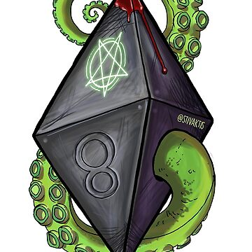 D&D - Warlock Die by optimisteve