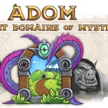 Ancient Domains of Mystery Extended Logo by ADOMgame
