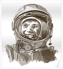 Erste Mensch im Weltraum Poster