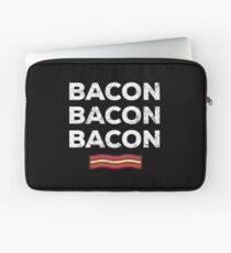 Feed Me Bacon Funny Apparel Gift Laptop Sleeve