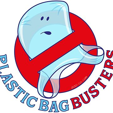 Plastic bag busters: Stop plastic pollution by Zoo-co