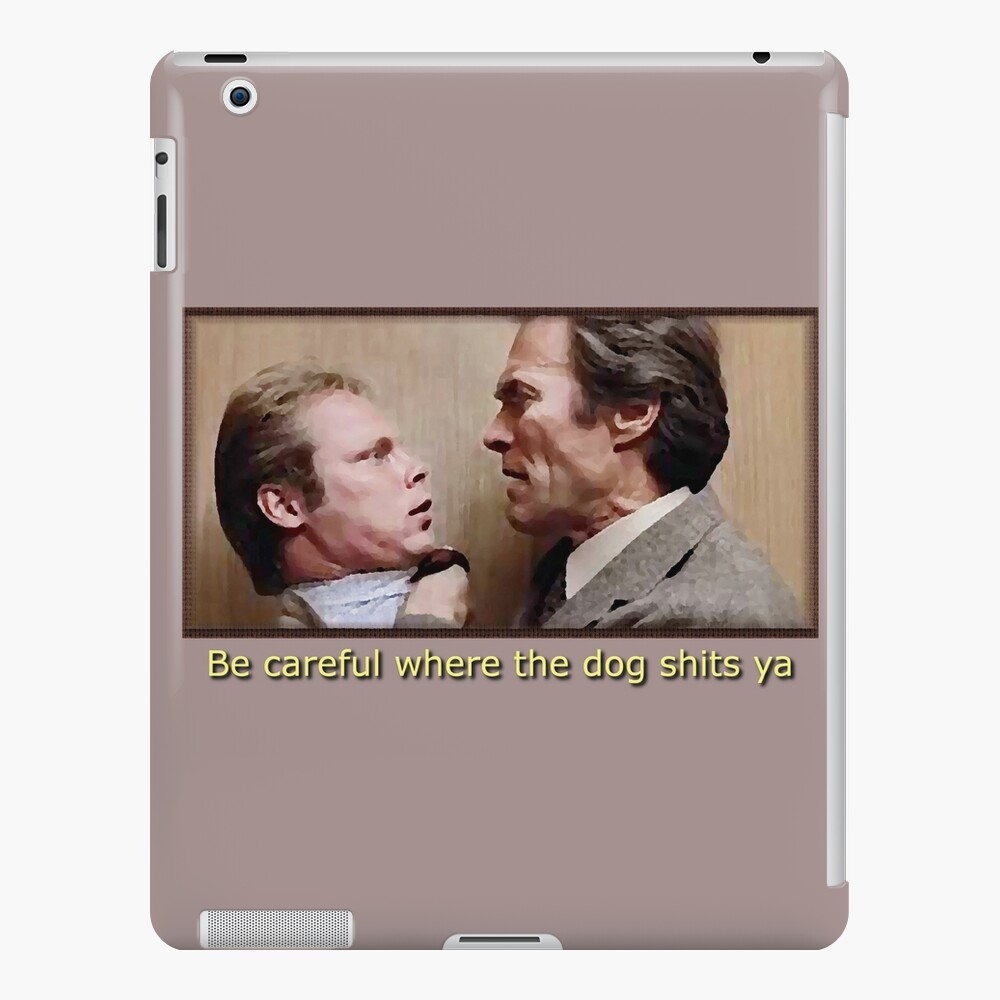 Best Dirty Harry Quote, Punk Dogshit iPad Case & Skin