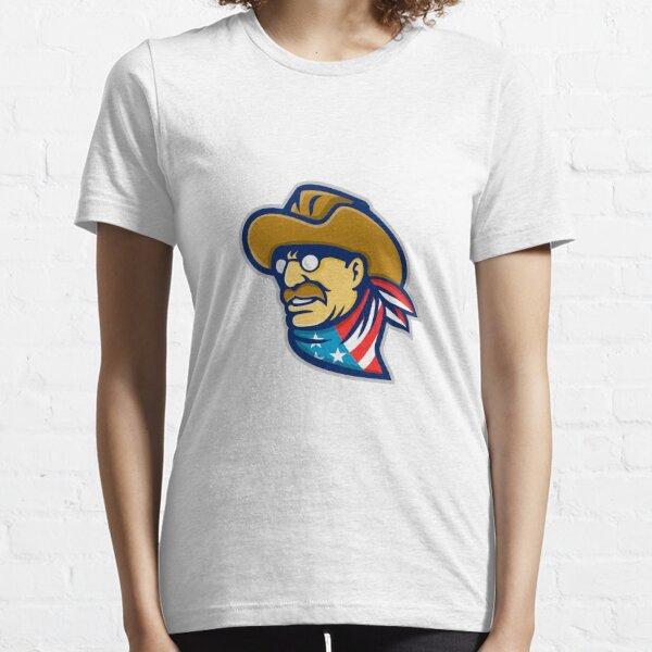 Theodore Roosevelt Jr Mascot Essential T-Shirt