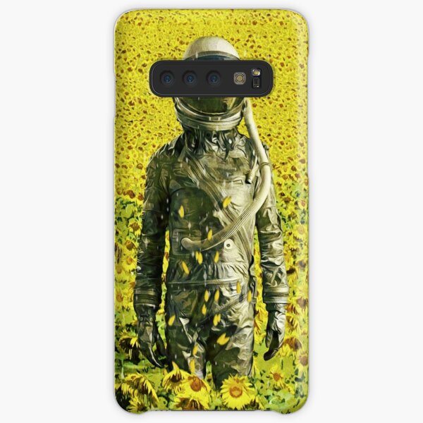 Stranded in the sunflower field Samsung Galaxy Snap Case