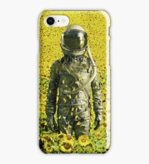 Stranded in the sunflower field iPhone Case/Skin