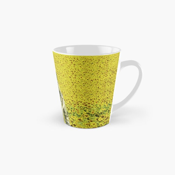 Stranded in the sunflower field Tall Mug