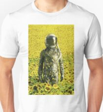 Stranded in the sunflower field Unisex T-Shirt
