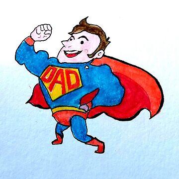 Dad is my Superdad by Croftsie
