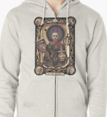 The Wise Grandfather (apparel) Zipped Hoodie